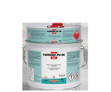 διάφανο, αλειφατικό, πολυουρεθανικό βερνίκι, VARNISH PU 2K-MAT