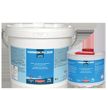 Αλειφατικό πολυουρεθανικό βερνίκι, VARNISH PU 2KW